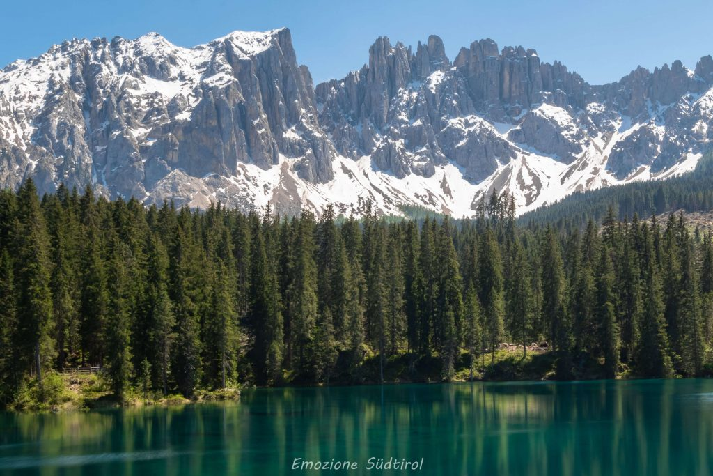 Lago di Carezza inizio estate