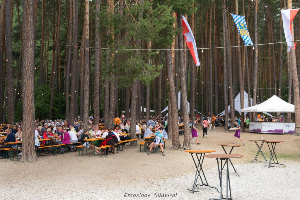 Waldfest a St. Georgen Val Pusteria